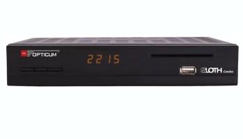 RECEIVER DVB-S2/T2 SLOTH Combo HD/CA/LAN/USB