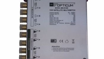 MULTISWITCH OPTICUM 13\8 C