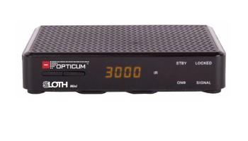 RECEIVER DVB-S2 HD SLOTH Mini CA/LAN/USB/12V