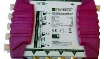 MULTISWITCH OPTICUM 9/8 Gold Line
