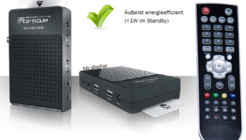 RECEIVER DVB-S2 OPTICUM X405 MINI